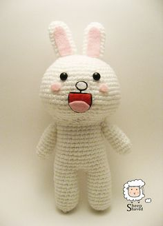 Cony Amigurumi pattern by Sheep Shaved