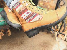 Keen Bern Baby Bern Lace Boots Totally in-season!  http://www.keenfootwear.com/product/shoes/women/bern-baby-bern-lace/deer%20tan
