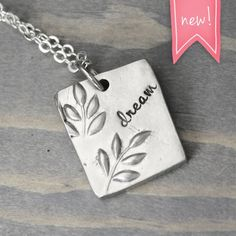 Pewter Dream Necklace $28.99 from Pure Impressions Etsy Shop - The Shop Gal