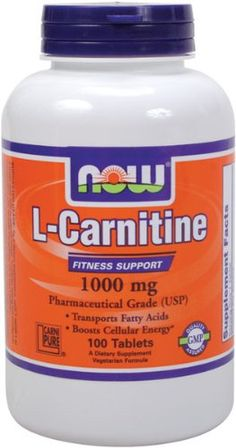 L-carnitine: encourages the body to use fat instead of muscle during exercise. Good for people trying to lose weight or maintain weight.