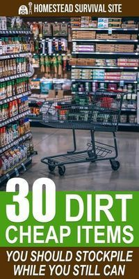 We took a tour of our local dollar store with a survival perspective in mind and found many dirt-cheap items that would not only serve more than one purpose in an emergency but would be valuable for bartering. Survival Items, Survival Supplies, Emergency Supplies, Survival Food, Survival Prepping, Survival Skills, Survival Quotes, Survival Hacks, Survival Weapons