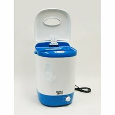 5 Gallon Bubble Magic Extracting Washer - Portable and convenient.  Minimal water usage.