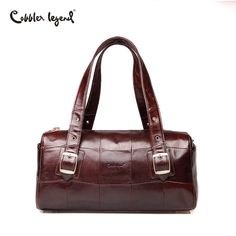 Aliexpress.com   Buy Cobbler Legend 2018 Men Travel Bags Genuine Leather  Duffle Tote Shoulder Travel Bag Men Portable Luggage Handbags Big Bolsas  from ... 6eefe8c46330a