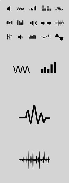 15 Sound Wave Icons