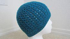 -Free crochet hat pattern -adult v stitch hat http://www.ravelry.com/patterns/library/adult-simple-v-stich-hat