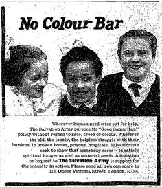 Salvation Army. 12 November, 1958