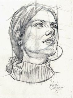 PERSPECTIVE FEMALE HEAD by AbdonJRomero on DeviantArt