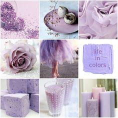 Lilac moodboard