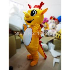 High Quality Dragon Mascot Costume Cute Mascot Costume Adult Party Carnival Halloween Christmas Mascot