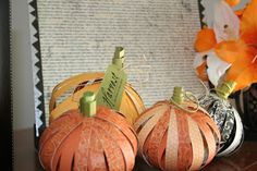 make mine lime: Fall Pumpkin Tutorial