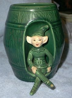 Treasure Craft Pixie in a barrel planter - I have this one.