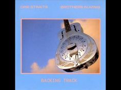 Brothers in Arms Backing Track - Dire Straits *Best* - YouTube