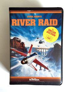RIVER RAID  by CAROL SHAW   Estuche   ACTIVISION 1983  VCG  SINCLAIR ZX SPECTRUM