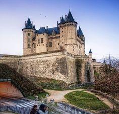 Saumur's castle, France.