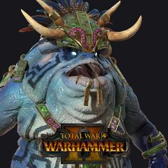 Slann Mage Priest - Warhammer 2 , Jas Dhatt on ArtStation at https://www.artstation.com/artwork/VRl64