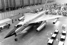 Early Mock up of B-58 hustler bomber