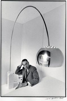the Arco lamp