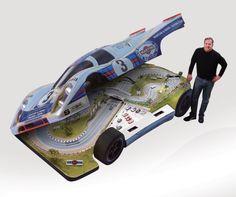 Hot Wheels On Steroids - Slot Mods Luxury Custom and Replica Slot Car Raceways.