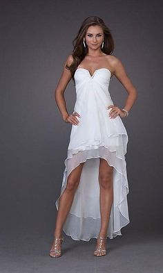 [ Casual Short Wedding Dresses Styles Wedding Dresses 10 ] - lace beach wedding gowns vosoi com lace beach wedding dress naf elegant short casual beach wedding dresses wedding dress ideas short casual beach wedding dresses,extravagant stella yor High Low Prom Dresses, Homecoming Dresses, Short Dresses, Wedding Dresses, Dress Prom, Dresses Dresses, Dresses 2013, Chiffon Dresses, Party Dresses