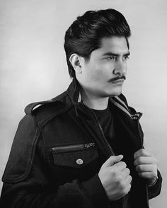 Corte por Sebastián Flores #haircut #americancrew #scissorsovercomb #menstyle #hairstyle #haircuts #men #beard #beardgang #barber #barbershop