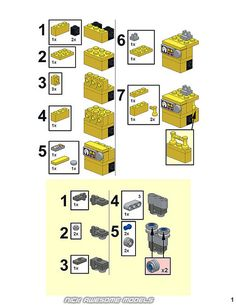 WALL-E Instructions | Nick L. | Flickr