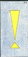 25- LE POINT D'EXCLAMATION - Carte NEUTRE Personnalité : Personne sûre d'elle. Personne prétentieuse. http://othoharmonie.unblog.fr/category/oracle-ge/
