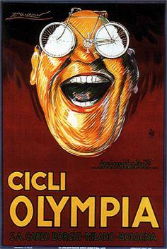 Achille Mauzan, Olympia cycles 1923 #TuscanyAgriturismoGiratola