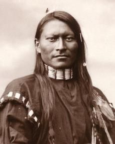 native american photograph
