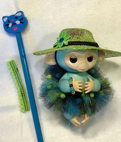 JoJo TuTu Outfit & Hat 5 Piece Set Finger Monkey Clothes Zoe Gigi WooWee #Handmade