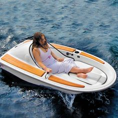 (6) Fancy - One-Person Electric Watercraft