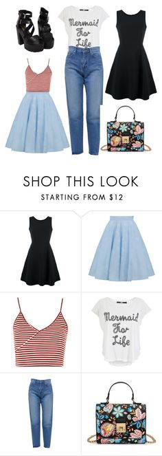 """""""Untitled #41"""" by bettina-agoston on Polyvore featuring Emporio Armani, Topshop, Iron Fist and Yves Saint Laurent"""