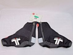 NEW Castelli Narcisista Shoe Covers Size X Large Cycling Booties Black #CastelliCyclingClothing