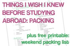 (TIWIKBSA) Week 11: Packing + FREE PRINTABLE - infinite... Only so pack water filter