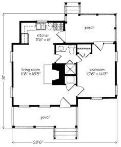 Guest house/studio idea