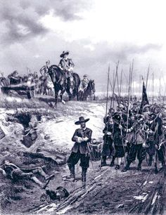 Oliver Cromwell at the Battle of Marston Moor