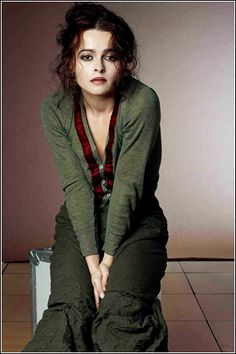 Helena Bonham Carter - AMAZING actress. So delightfully dark and twisted in Harry Potter, but then polished, distinguished, and witty in The King's Speech, wife to the Duke of York.