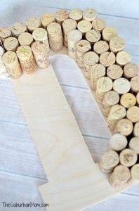 Wine Cork DIY Monogram
