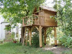 Baumhaus Kuckuck im Garten