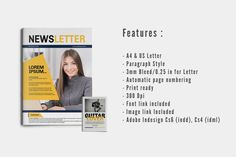 Business Newsletter Vol. 01 by@Graphicsauthor