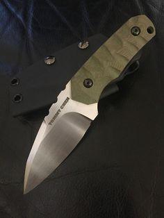 Custom handmade edc knife by tommyknives on Etsy