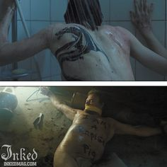 Best Tattoos In Movies-Pt3 : Inked Magazine - The Girl with the Dragon Tattoo #tattoo #tattoos #movies #inkedmag #celebrities #celebritieswithtattoos #actor #actress