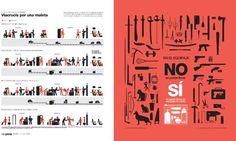 """""""Viacrucis por una maleta"""", Malojief 20 awarded graph in the category of Graphic features, by La Nación, Costa Rica"""