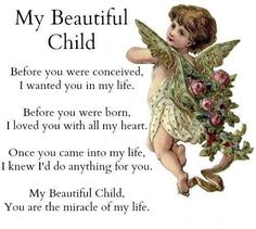 Mother's Love: Before You Were Conceived...