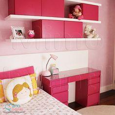 Papel de Paredes para decoração de quarto de bebê e infantil  811027, REF811027, Rosa, liso, manchado | SP, BH, MG, RJ, DF