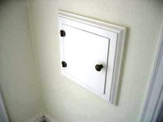 Incroyable Cute Laundry Chute Door!