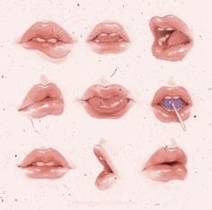 drawing mouths | Tumblr