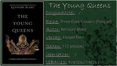 Books on Fire (ehemals Books on PetrovaFire): [Rezi] Kendare Blake - The Young Queens [Three Dar...
