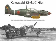 "Kawasaki Ki-61-I Hein (Allied reporting name ""Tony"")"