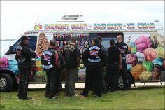 Australian Biker Gang gets Ice cream