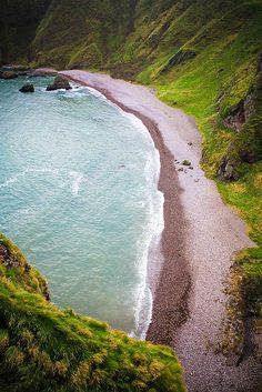 Shore View from Dunnottar Castle, Stonehaven Scotland